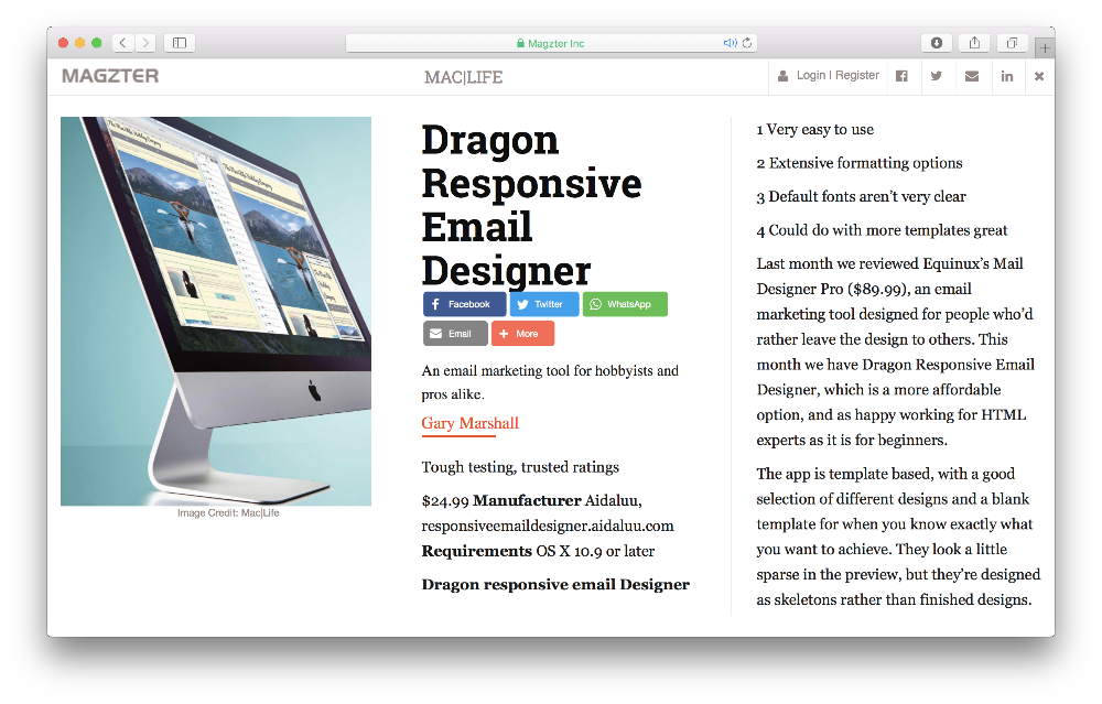 mac email templates